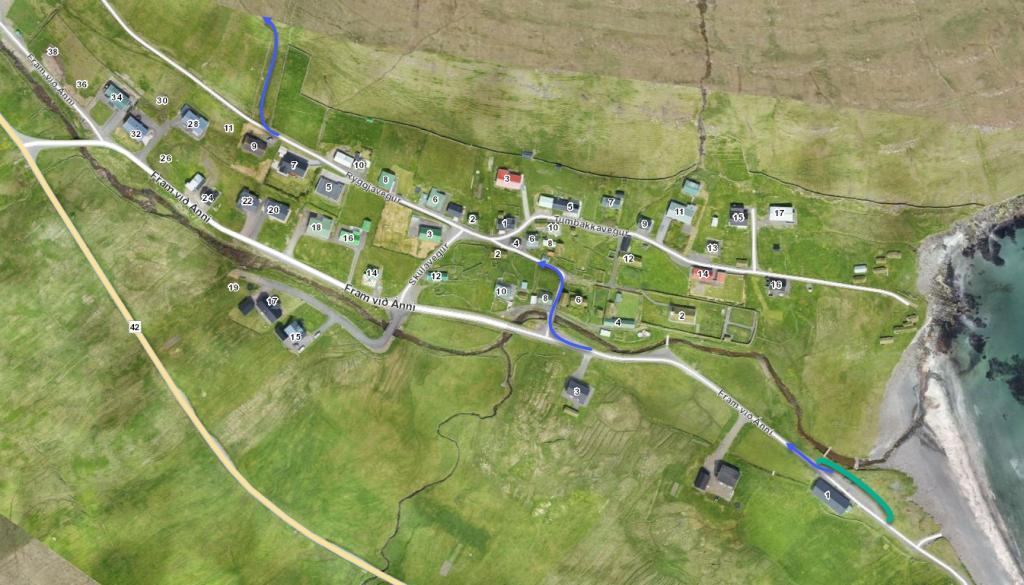 Parking-Húsavík-Skálavík-Villagepath